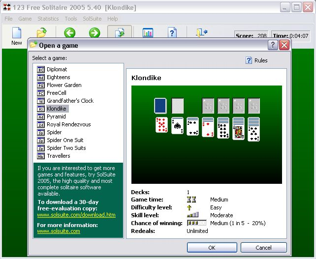 123 free solitaire 2005 download 123abc cz